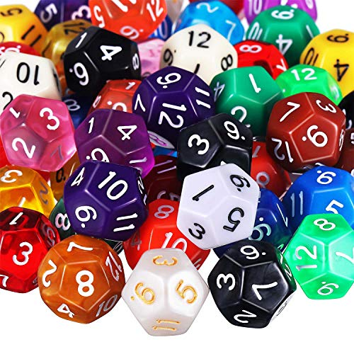 12 sided dice - 1