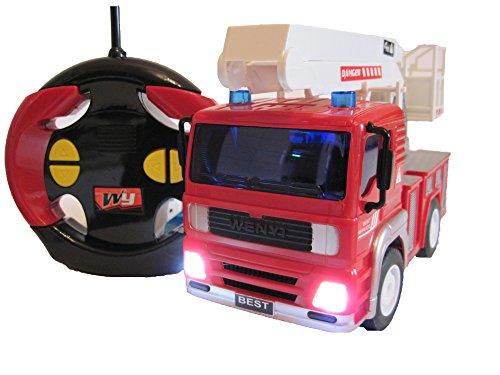 RC Feuerwehr kaufen Feuerwehr Bild 1: Wenyi RC Feuerwehrauto ferngesteuertes Spielzeug Feuerwehr Auto Ferngesteuert NEU*