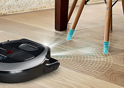 Samsung POWERbot R7040 Robot Vacuum Wi-Fi Connectivity, Ideal for Carpets, Hard Floors, and Pet Hair with 3510Pa Strong Performance, Works with Amazon Alexa and the Google Assistant