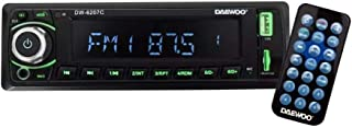 Daewoo Auto Estéreo Bluetooth USB Auxiliar SD Radio DW6207C