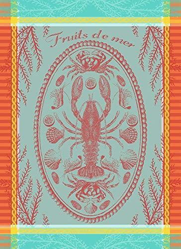 Garnier Thiebaut Marée Basse Torchon, Coton, Multifonction, 22\