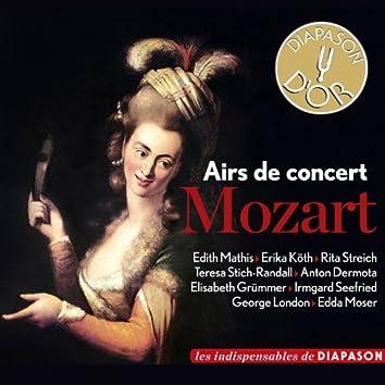 Mozart: Airs de concert (Les indispensables de Diapason)