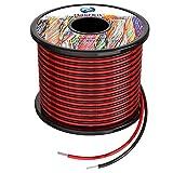 0.3mm² 22awg Fils électrique en Silicone 2x30 Mètres Cable fil de cuivre étamé multibrins Résistant à Haute Température