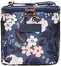 Sarah Wells Cold Gold Breastmilk Cooler Bag with Ice Pack (Le Floral)