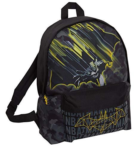 Batman Großer Rucksack für Kinder und Erwachsene, DC Comics Schule College Laptop Tasche Rucksack
