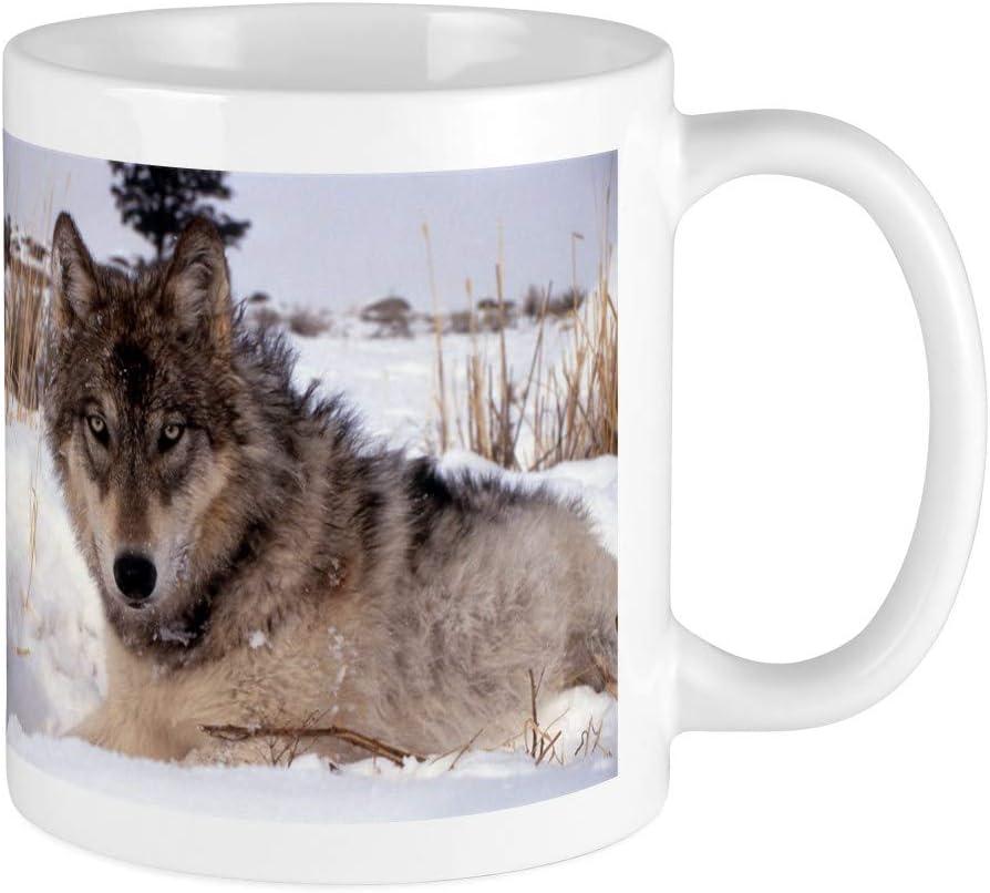 Cafepress Wolf In Yellowstone Mug Unique Coffee Mug Coffee Cup Coffee Cups Mugs