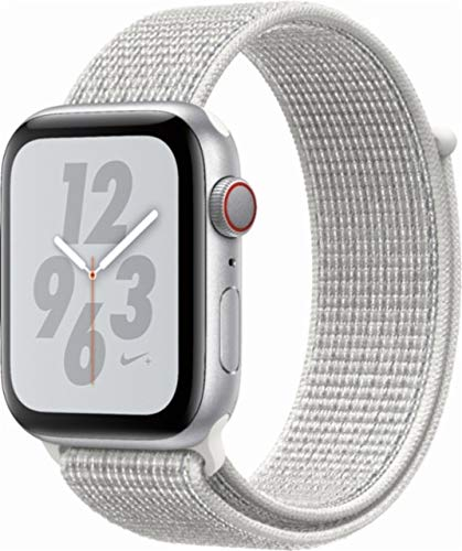 Apple Watch Series 4 (GPS+Cellular) Aluminum Case Unlocked Compatible with iPhone 5s and Above