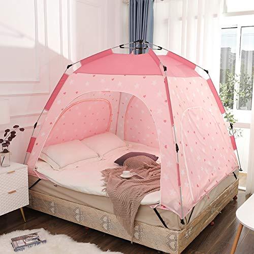 YXZN Bettzelt Bodenloses Innenzelt auf dem Bett für warmen und gemütlichen Schlaf im zugigen Raum