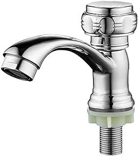 Minamata houlian shop faucet, Single handle hole koper ventiel Core Single Cold Basin Water Basin Bad kraan