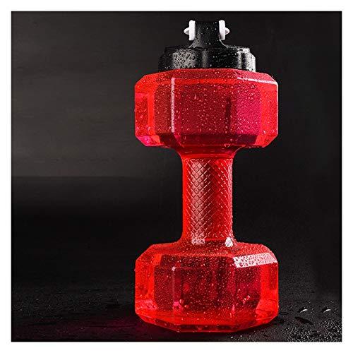 1 unids Pesas ajustables Botella de agua grande Deportes Running Fitness Hervidor de gimnasio Pesos para gimnasio Dumbbels Equipo de gimnasio Pesos de mano Pesas de mancuernas ( Color : 1PCS 2.6L )