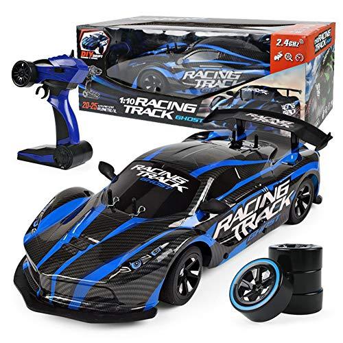 RC Auto 1:10 Hochgeschwindigkeitsrennen 2.4G 4WD Radio Sport Drift Racing ElectronicLuxury 4 × 4 Fernbedienung Spielzeug Spielen Geschenke Kinder Am Besten FüR Kinder