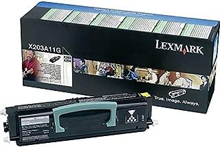 Best lexmark x203a11g black toner cartridge Reviews