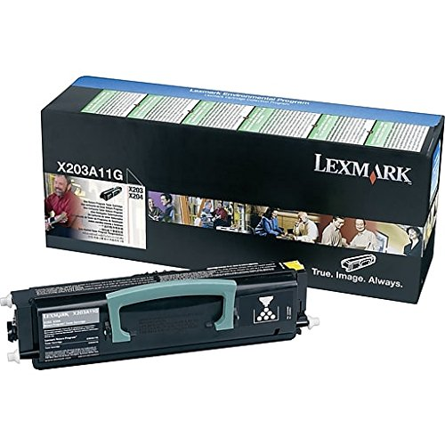 Originale Lexmark X203A11G Toner return program nero