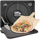 DOGE COOK Pierre à Pizza + Pelle à Pizza en Bambou + Mini Pelle +...