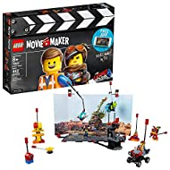LEGO THE LEGO MOVIE 2 Movie Maker 70820 Building Kit For Kids, Build and Play Creative Director Roleplay Toy with Free Movie Maker App (482 Pieces) (Discontinued by Manufacturer)