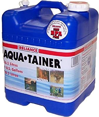 Reliance Products Aqua-Tainer 7 Gallon Rigid Water Container