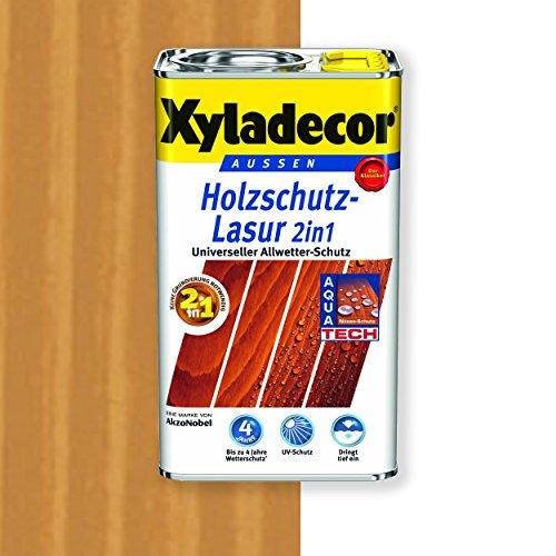 Xyladecor Holzschutz-Lasur 2in1 (2,5 l, walnuss)