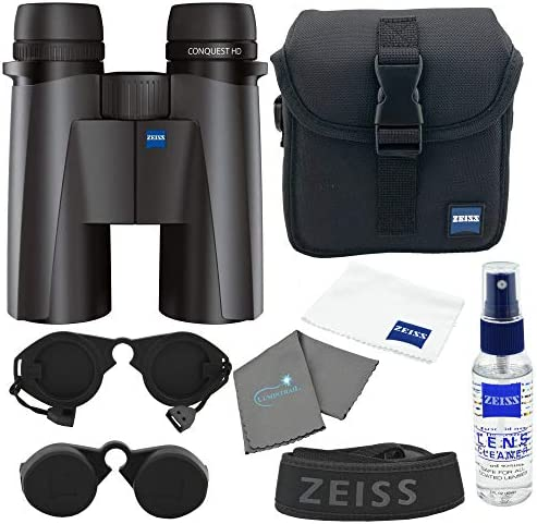 Zeiss 10x42 Conquest HD Binocular with Lens Kit and Cleaning Cloth product image