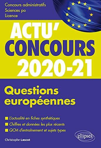 Questions européennes 2020-2021