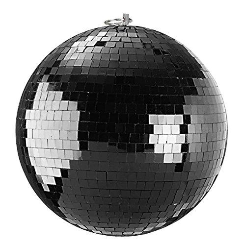 Spiegelkugel 20cm schwarz//Discokugel - Mirrorball 20cm black