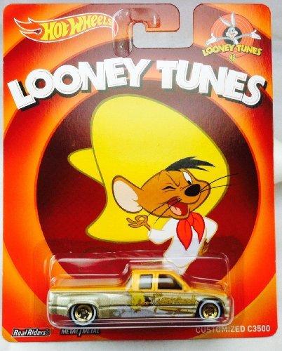 HOT WHEELS LOONEY TUNES SPEEDY GONZALEZ CUSTOMIZED C3500 by Hot Wheels