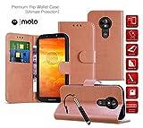 Motorola Moto E5 Plus Case Wallet Phone Cases [Leather