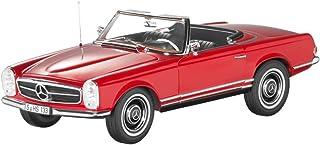 مجسم سيارة مرسيديس بنز 230SL باجودا بحجم مصغر 1/18 لون احمر