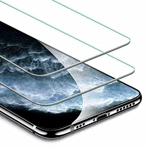 Cracksin [2 unidades] Protector de pantalla compatible con Samsung Galaxy J7 Pro, cristal templado 9H, transparente, antiarañazos.