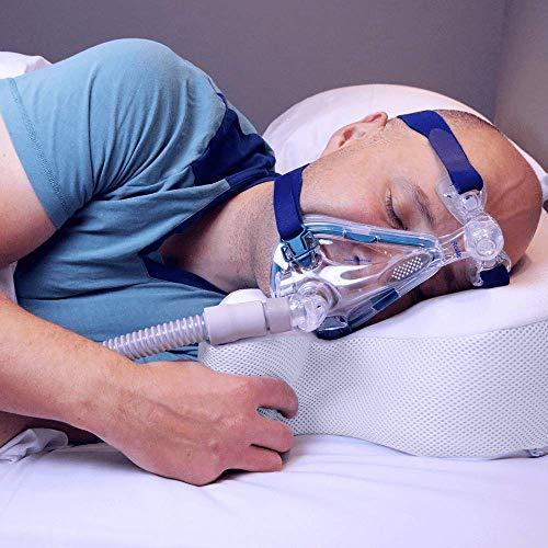 oxyhero CPAP-Kissen - höhenverstellbar, mittelweich, für alle CPAP-Masken geeignet, aus druckabsorbierendem High-Tech-Memoryschaum