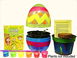 Non-candy Easter basket gifts terrarium