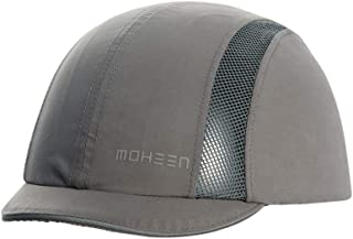 Safety Bump Cap With Reflective Stripes, Lightweight and Breathable Hard Hat Head Protection Cap(Micro,Grey)