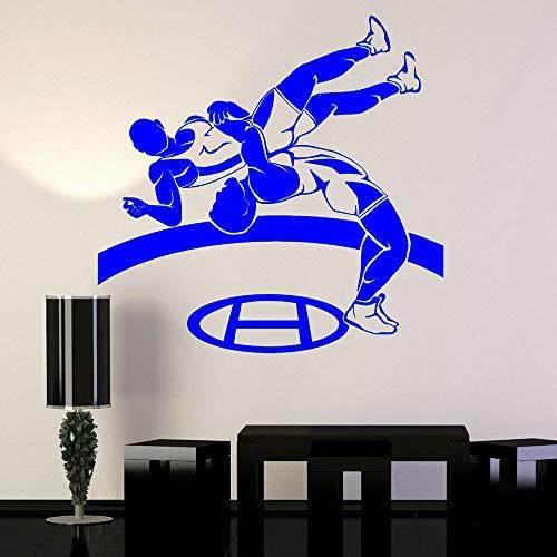 Vinyl Wall Decal Gymnasium Klassenzimmer Dekoration Farbe-4 74x75cm