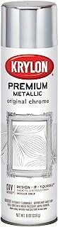 Best Krylon K01010A07 Premium Metallic Spray Paint Resembles Actual Plating, Original Chrome, 8 oz Review
