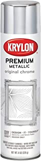 Krylon K01010A07 Premium Metalic Original Chrome 8 Ounce