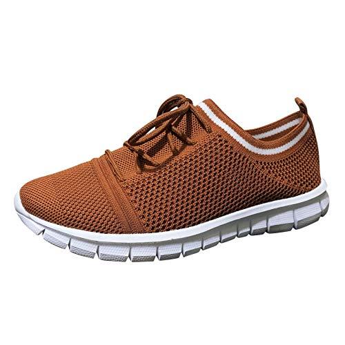 Zapatos para Correr para Mujer Zapatillas de Running Ligero y Transpirable Sneakers y Asfalto Aire Libre y Deportes Calzado 1228