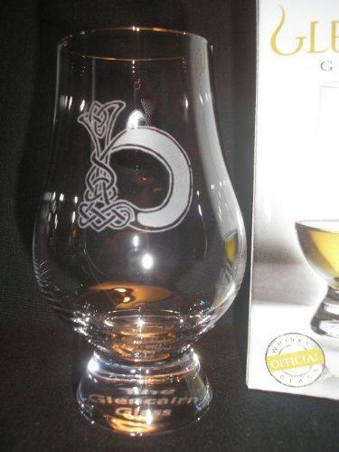 GLENCAIRN CELTIC 'B' MONOGRAMMED WHISKY TASTING GLASS