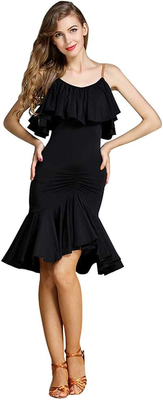 YTS Lateinisches Tanzkleid für für für Erwachsene, Straps-Kleid B07H6FZC2Y  Leitende Mode e8fcfd