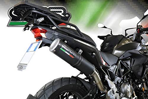 POT GPR EXHAUST SYSTEMS DB.31.FCB DERBI Senda DRD 125 R//SM 2009//13 POT DECHAPPEMENT HOMOLOGU/È FURORE CARBONIO OVAL
