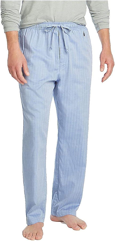 Nautica Men's Soft Woven 100% Cotton Elastic Waistband Sleep Pajama Pant