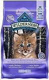 Blue Buffalo Wilderness High Protein Grain Free, Natural Kitten Dry Cat Food, Chicken 2.2kg bag