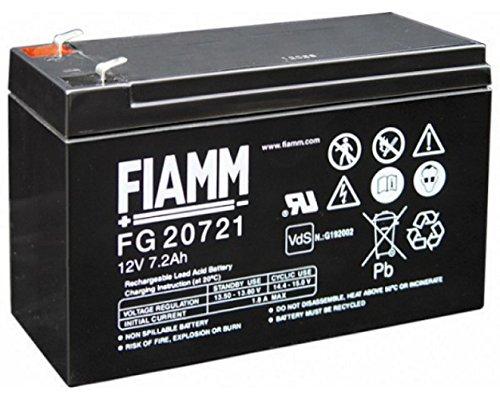 Batteria Fiamm al Piombo 12V 7,2Ah Faston 4,8mm