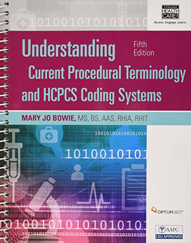 Understanding Current Procedural Terminology and HCPCS Coding Systems, Fifth Edition (Book Only)