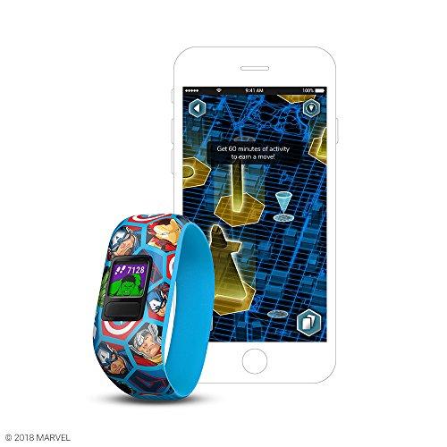Garmin Vivofit jr. 2 Avengers kids activity tracker