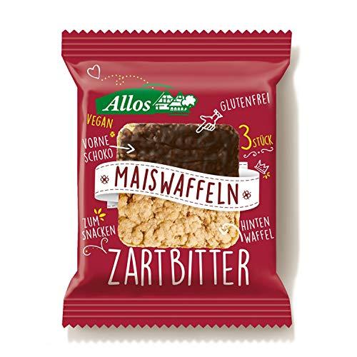 Allos Maiswaffeln Zartbitter - Bio - 37,5g