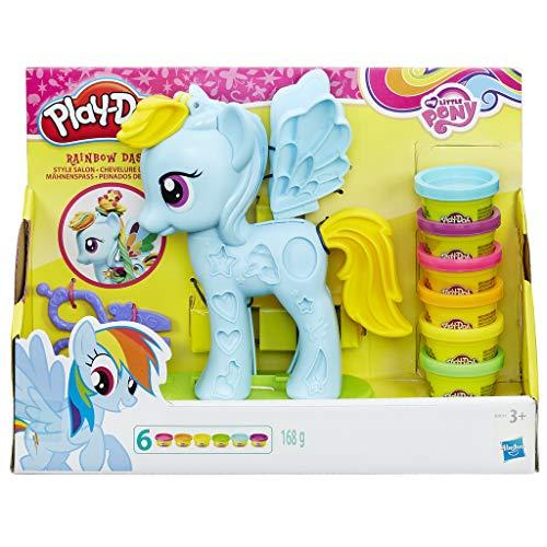Play Doh - Rainbow Dash Style Salon (Hasbro B0011EU6)