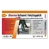 Thermo Infrarot Heizteppich, 390x590mm, 85W, mit LED-Fußschalter, IPX4 - 5