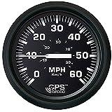 Faria 32816 Euro Speedometer Gauge 60 MPH GPS Studded - 4