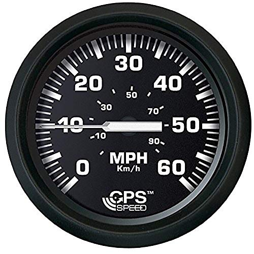 Why Choose Faria 32816 Euro Speedometer Gauge 60 MPH GPS Studded - 4