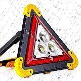 Warndreieck Auto USB Tragbare LED COB Arbeitslicht