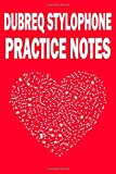 Dubreq stylophone Practice Notes Instrument Book Series notebook: music notebook